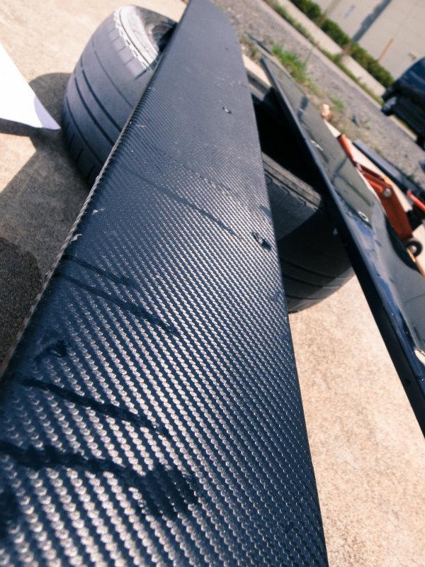 エアロパーツ汎用サイドフラップ S2000